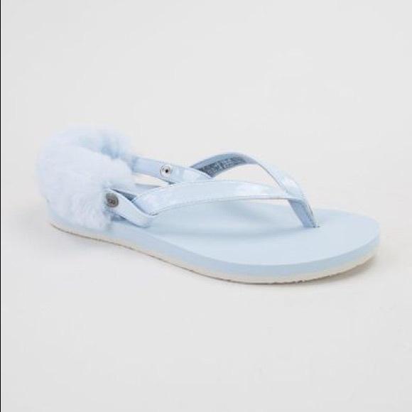 a6bd390232b5 UGG Laalaa Sandals Sky Blue